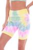Tie Dye Bike Shorts