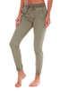 Cuffed Crinkle Denim Pants (+ colors)