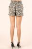 Cheetah Jogger Shorts