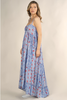 Tiered Maxi Dress W/ Front Ruffle (+ colors)