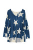 Oversized V-Neck Star Sweater (+ colors)