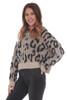Leopard Hooded Sweater