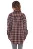 Long Hem L/S Plaid Shirt