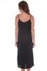 Pearl Cowl Neck Slip Midi Dress