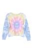 Tie Dye Cropped Crewneck Sweatshirt (+ colors)