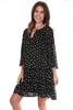Drop Waist Floral Mini Dress