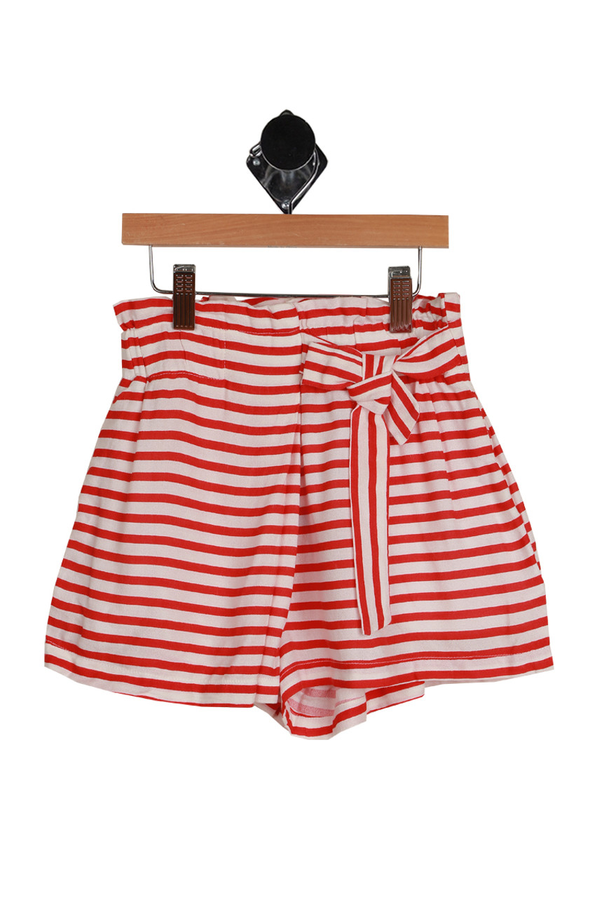 40182691bf4 Striped High Waisted Shorts (Big Kid)