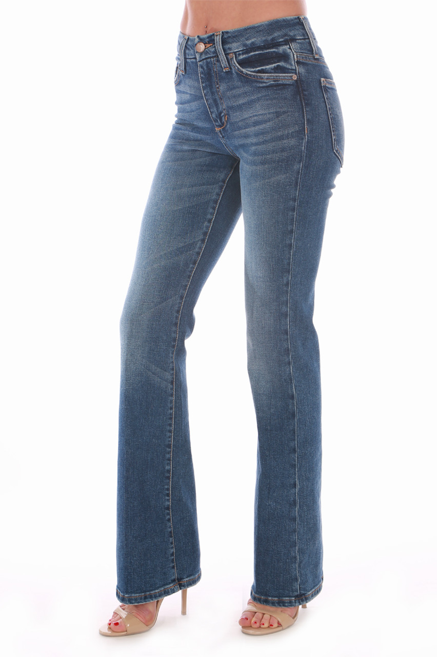 d31716bf7e0 These will become your new favorite jeans!!! The Hi Rise Honey Boot cut