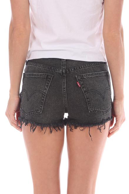 1dc105cd Black 501 Frayed Shorts - M.Fredric
