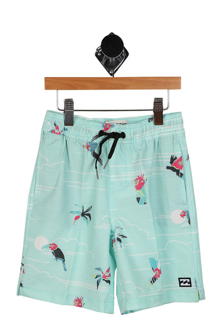 Sundays Lay Back Shorts (Toddler/Little Kid)