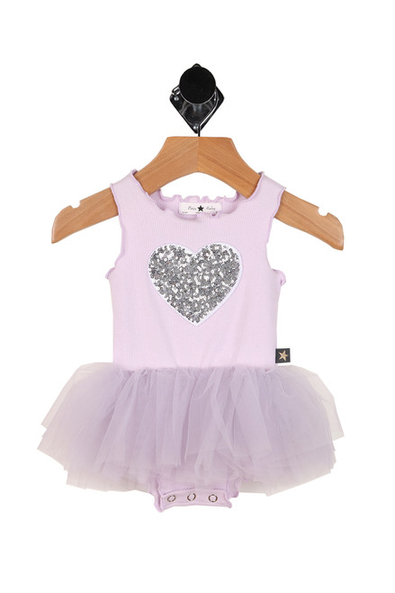 Sequin Heart Tutu Dress (Infant)