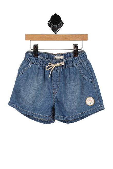 Honey Sunday Denim Beach Shorts (Big Kid)