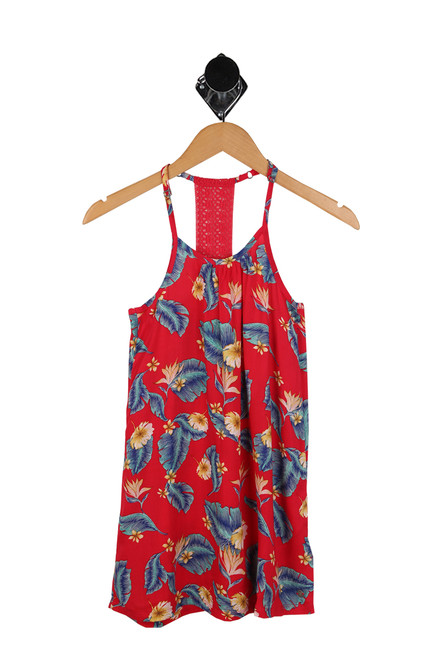 Exotic Nature Strappy Dress (Big Kid)