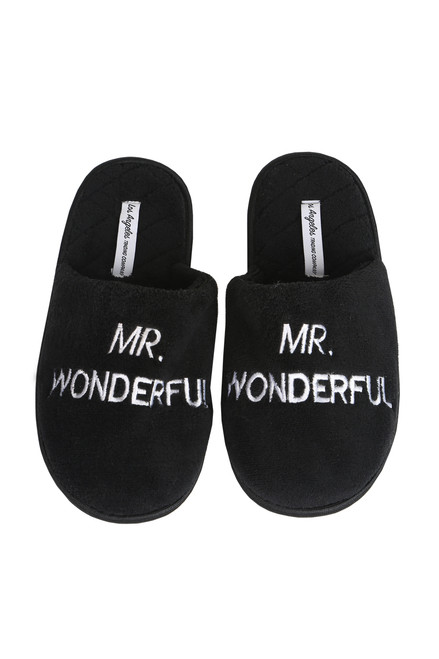 Mr. Wonderful Slippers