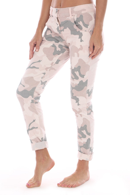 Camo Stretch Skinnies
