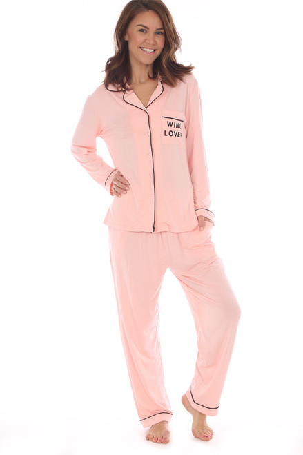 Wine Lover Pajama Set