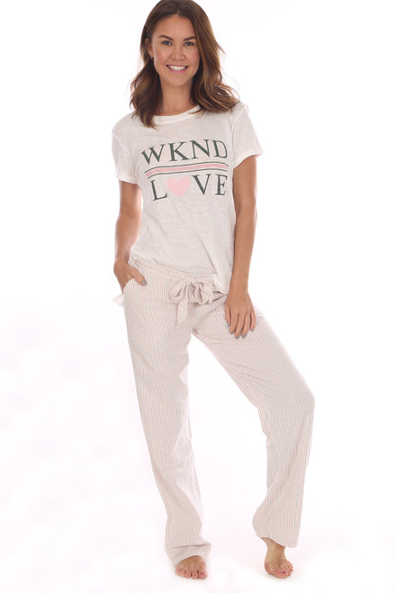 Weekend Love Pajama Set