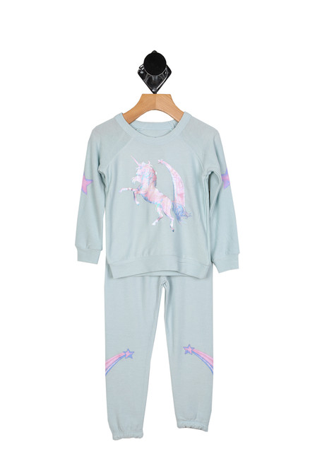 Cotton Candy Unicorns Lounge Set (Little Kid)
