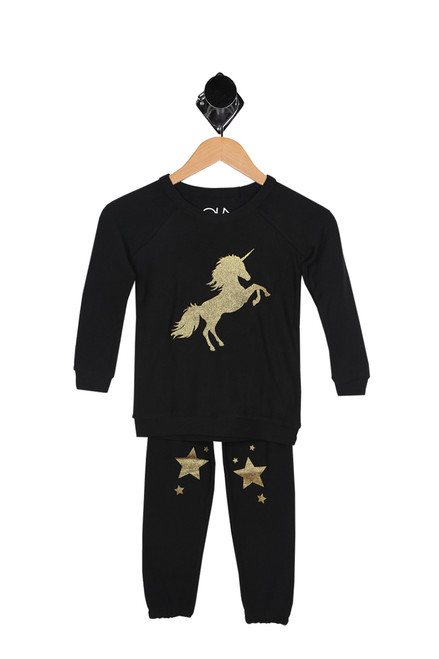 Stars & Unicorns Lounge Set (Little/Big Kid)