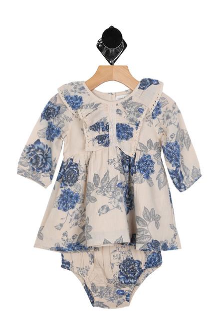 Nottinghill Ruffle Dress W/ Bloomers (Infant)