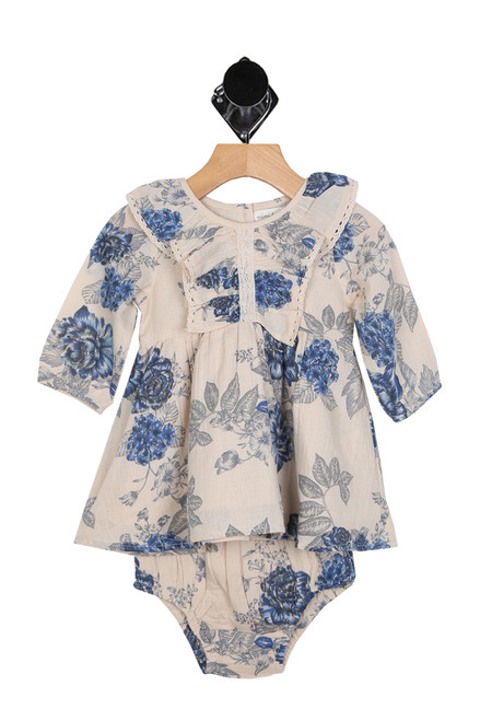 Nottinghill Ruffle Dress W/ Bloomers (Infant)