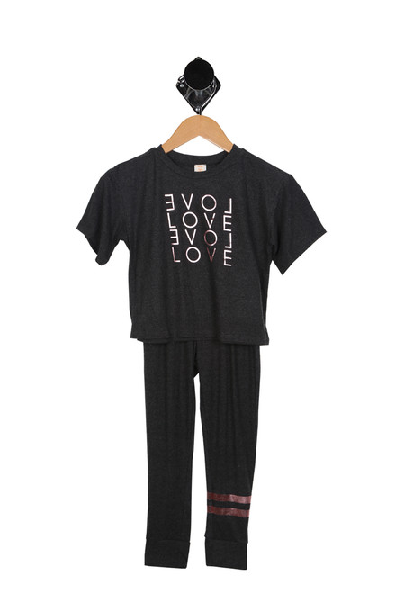 Love Jogger Set (Big Kid)