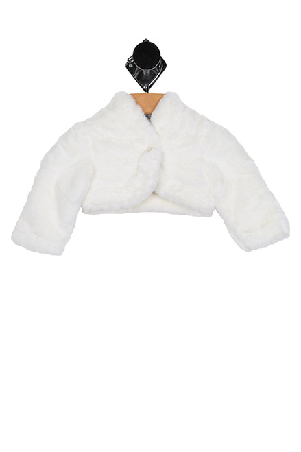 Faux Fur Cardigan (Infant)