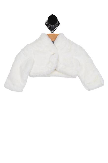 Faux Fur Cardigan (Infant)