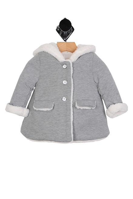 Wool-Like Fuzzy Coat (Infant)
