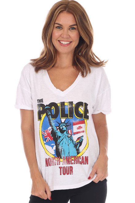 The Police Graphic Tee