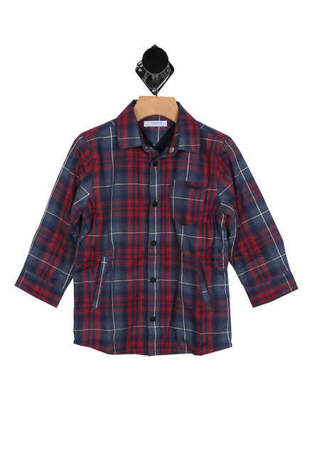 Lightweight Flannel Over-Shirt (Toddler/Little/Big Kid)