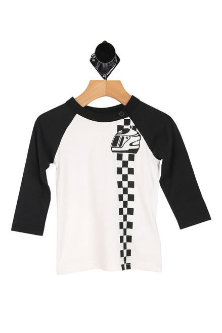 Motor Racing Raglan Tee (Infant/Toddler/Little Kid)