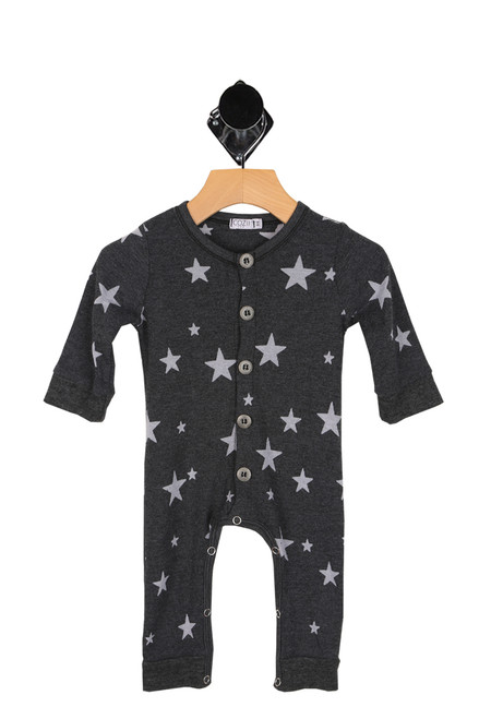 L/S Burnout Star Onesie (Infant)
