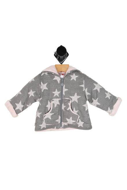 Fur-Lined Star Knit Jacket (Infant)