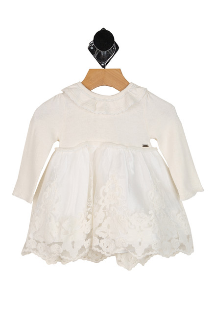 Tulle Sweater Dress (Infant)