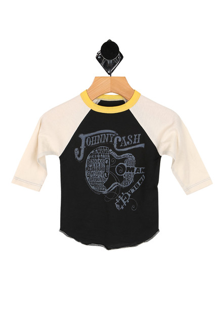 Johnny Cash Raglan Tee (Infant/Toddler/Little Kid)