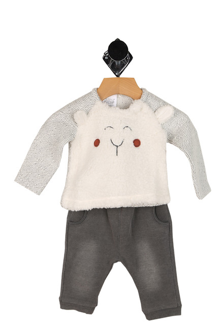 Little Lam Sweater W/ Pants Set (Infant)
