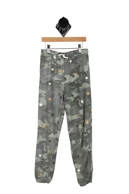 Camo Hearts Pants (Big Kid)