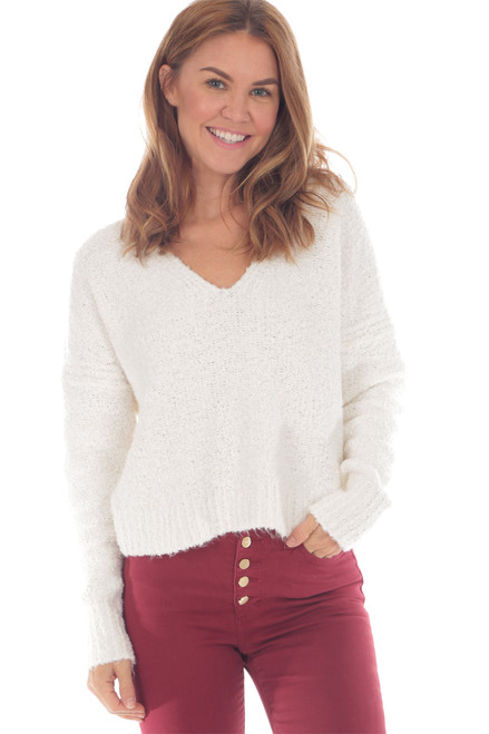 Finders Keepers V-Neck Sweater (+ colors)