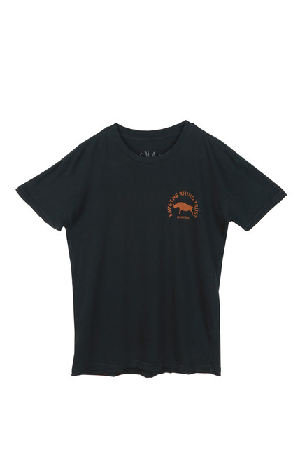 Unisex Save The Rhino Graphic Back Tee (+ colors)