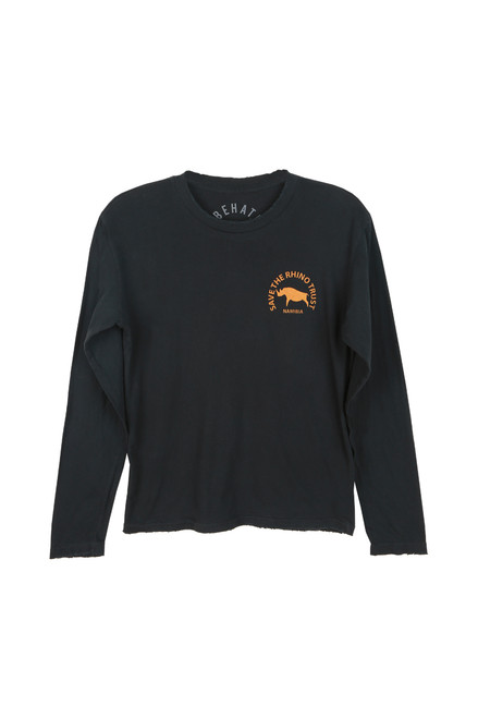 Unisex L/S 'Save The Rhino' Tee (+ colors)