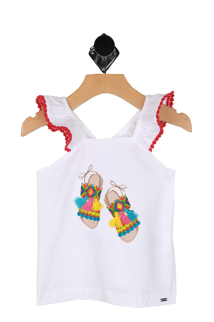 Bright Sandals Ruffle Tank (Little Kid)
