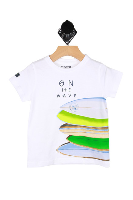 S/S On The Wave Tee (Toddler/Little Kid)