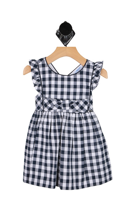 Checkered Ruffle Dress (Toddler)