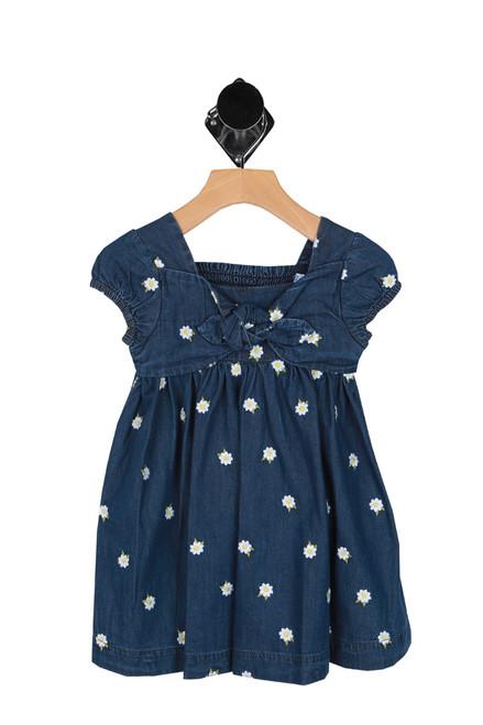 Denim Daisy Dress (Toddler/Little Kid)