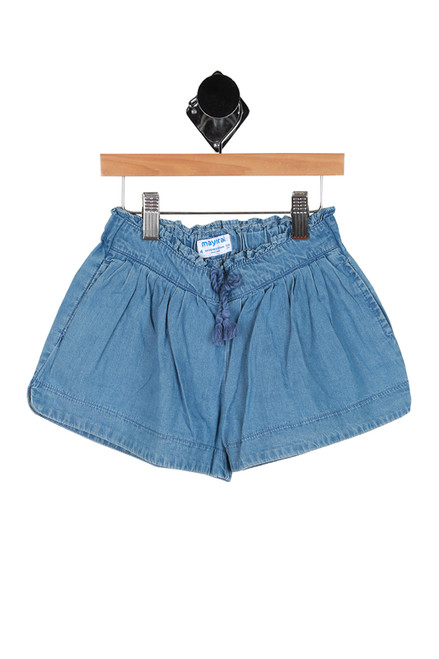 Chambray Shorts (Little Kid)