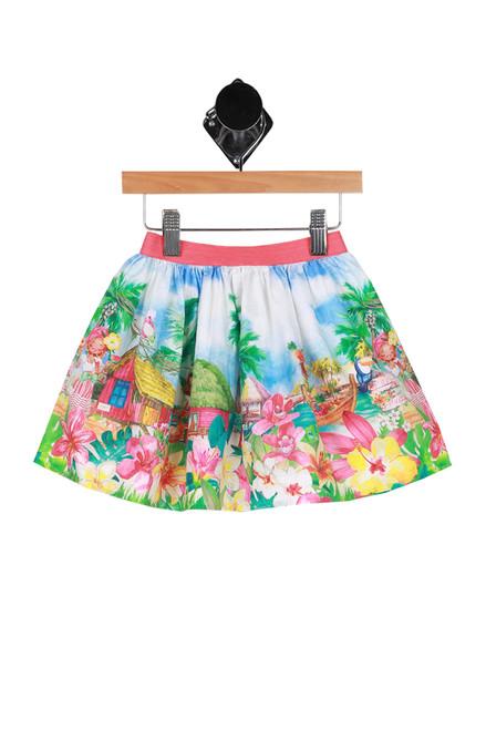 Tropical Print Skirt (Little Kid)