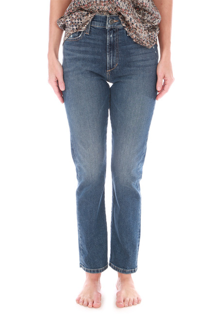 The Luna Ankle Straight Jeans