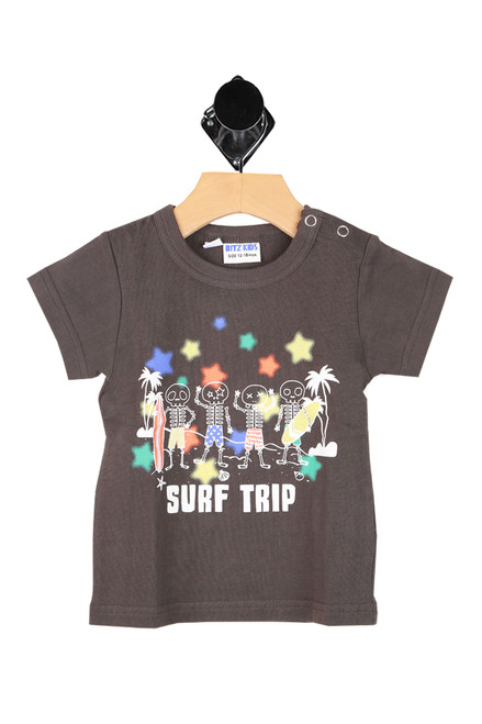 Surf Trip Skull Tee (Infant/Toddler/Little Kid)