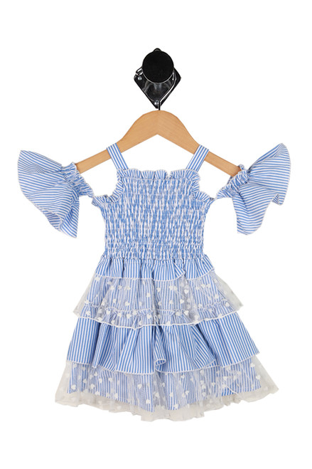 Smocked Dress W/ Ruffle Tier Skirt (Toddler)